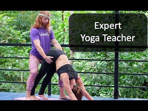 Expert yoga teacher
